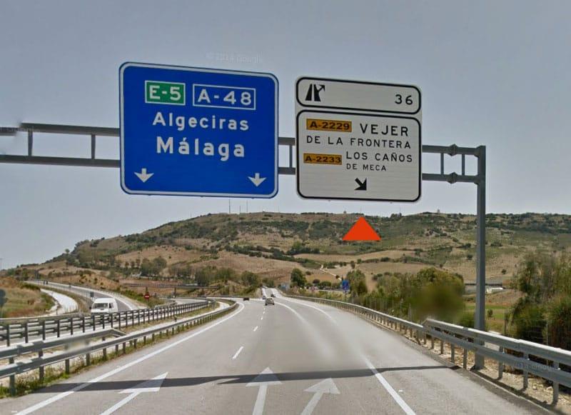 Localización - Salida 36 de la Autovía A-48