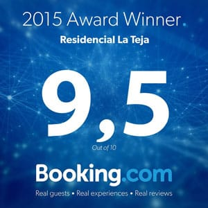 Booking 2015 Award Winner