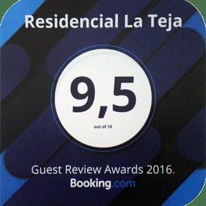 Booking 2016 Award Winner