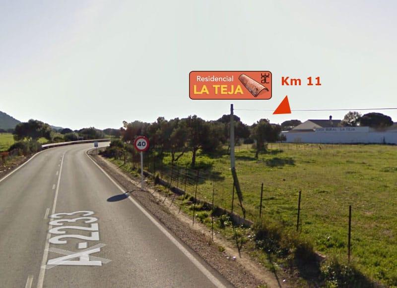 Localización - Km 11 de la A-2233