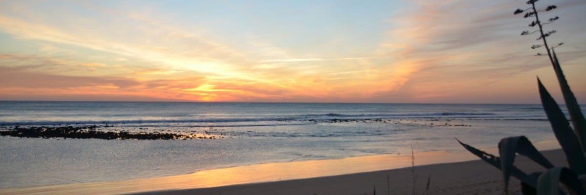 Atardeceres de playas de Cadiz
